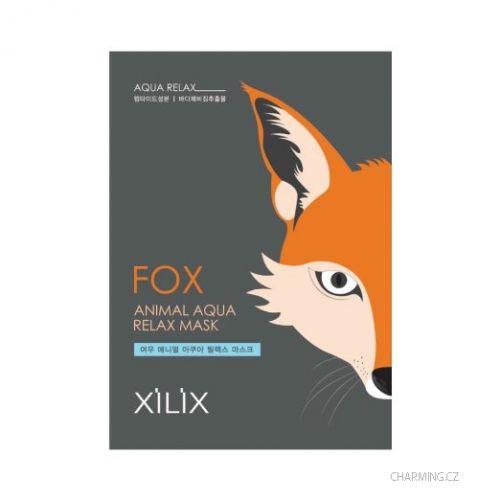 DERMAL Xilix Fox esenční hydratační maska pro citlovou pleť 25 g