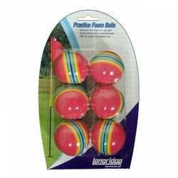 Longridge pěnové míčky na trénink