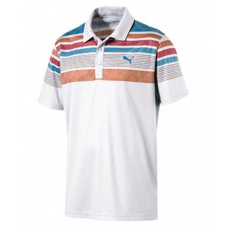 Puma Jersey Stripe Polo triko