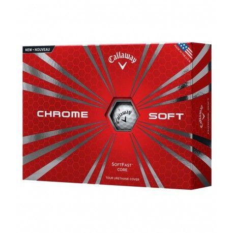 Callaway Chrome Soft míčky