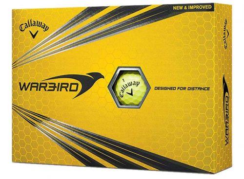 Callaway Warbird Yellow míčky