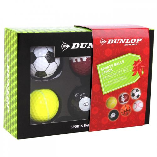 Dunlop Novelty Christmas set míčků