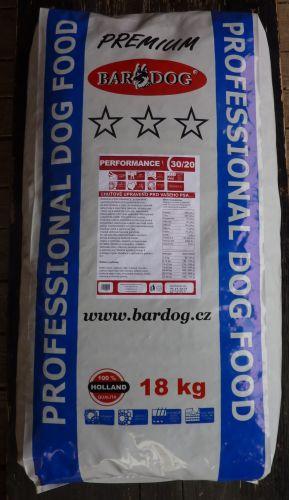 Bardog Prémium Performance 30/20 18 kg