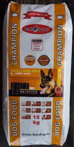 Bardog Super Prémium Adult Large Breed XL 26/16 15 kg