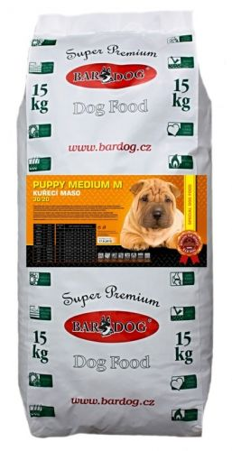 Bardog Super Prémium Puppy Medium M 30/20 15 kg