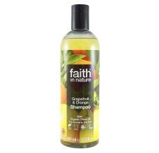 Faith in Nature přírodní šampon BIO Grapefruit&Pomeranč 400 ml