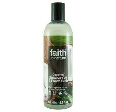 Faith in Nature přírodní sprchový gel BIO Kokos 400 ml