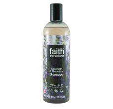 Faith in Nature přírodní šampon Levandule 400 ml -