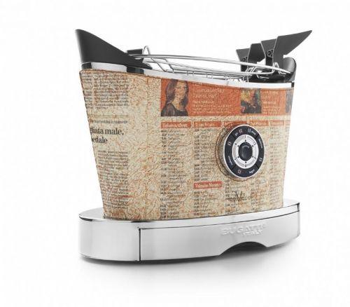 Bugatti Volo Newspaper