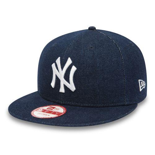 New Era 9fifty Denim Esential Snap MLB New York Yankees Navy kšiltovka cena od 0 Kč