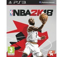 NBA 2K18 pro PS3 cena od 0 Kč