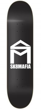 Sk8Mafia House Logo black Mc 8.000""