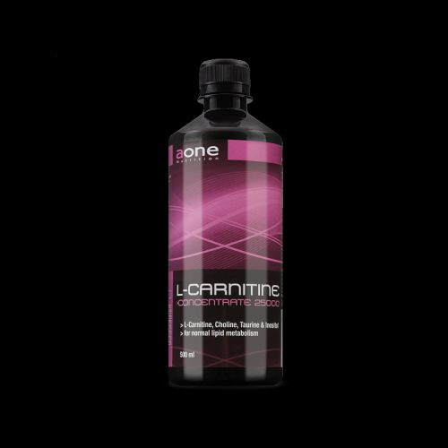 Aone L-Carnitine Concentrate 25.000 Black currant 500 ml