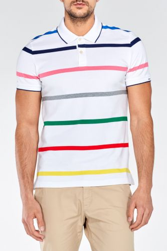 GANT MULTI STRIPE PIQUE SHORT SLEEVED RUGGER Polokošile
