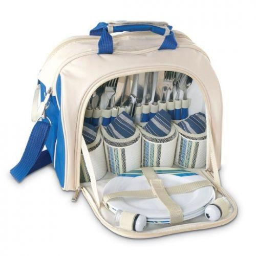 Rekl RUSTIC Pikniková taška pro 4 osoby