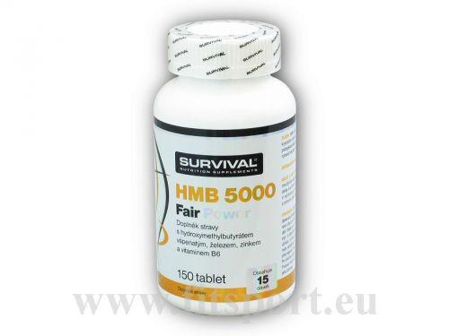 Survival HMB 5000 Fair Power 150 tablet
