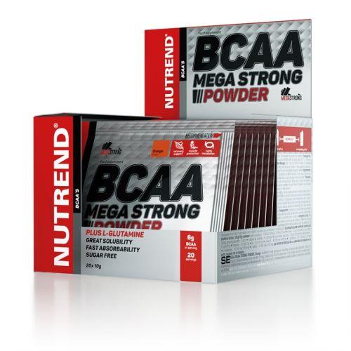 Nutrend BCAA Mega Strong Powder 20x10 g