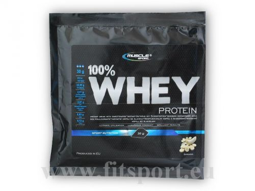 Musclesport 100% Whey protein 30 g
