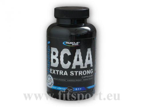 Musclesport BCAA extra strong 6:1:1 100 kapslí