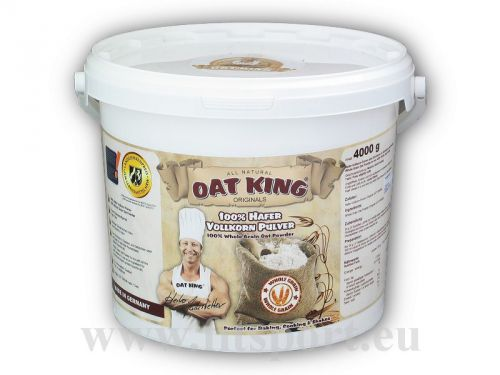 Oat king pulver 100% 4000 g
