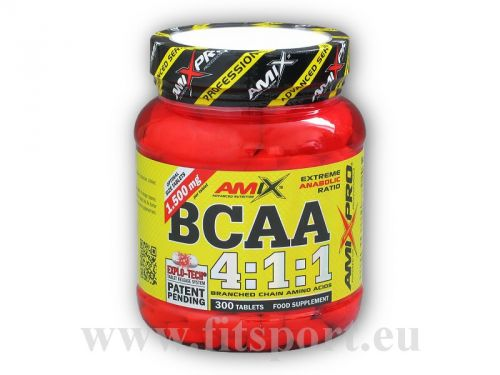 Amix Pro Series BCAA 4:1:1 300 tablet