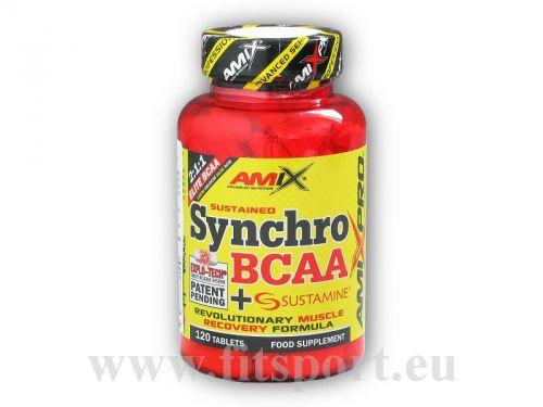 Amix Pro Series Synchro BCAA + Sustamine 120 tablet