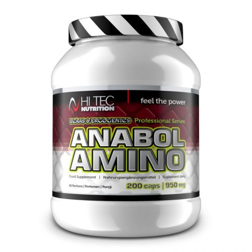 Hi Tec Nutrition Anabol amino professional 200 kapslí