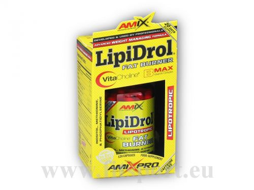 Amix Pro Series LipiDrol Fat Burner 120 kapslí