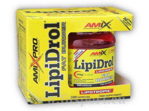 Amix Pro Series LipiDrol Fat Burner 300 kapslí