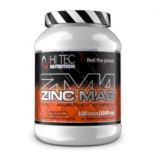 Hi Tec Nutrition Zinc Mag 120 kapslí