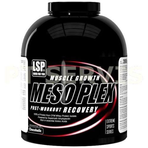LSP Nutrition Meso Plex high protein gainer čokoláda 3500 g