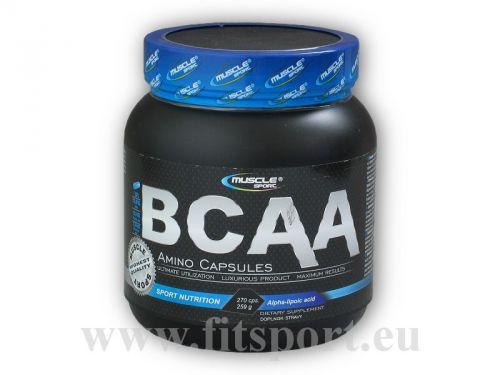 Muscle sport BCAA amino 800 mg 270 kapslí