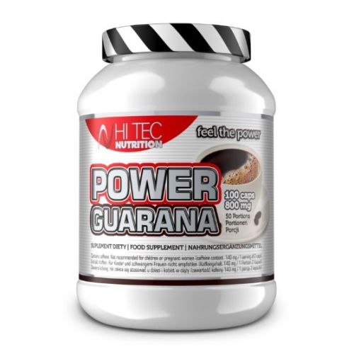 Hi Tec Nutrition Power Guarana 800 mg 100 kapslí