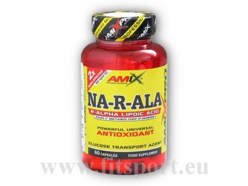Amix Pro Series NA-R-ALA Alpha Lipoic Acid 60 kapslí