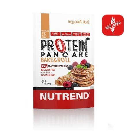 Nutrend Protein Pancake chocolate+cocoa 750 g