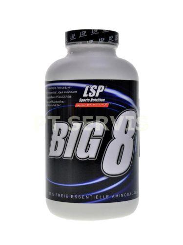 LSP Nutrition BIG 8 essential amino 300 kapslí