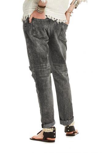Scotch&Soda šedé džíny s nízkým sedem