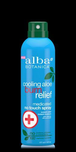 Alba Botanica Ochlazující aloe vera sprej pro úlevu spálené kůže 177 ml
