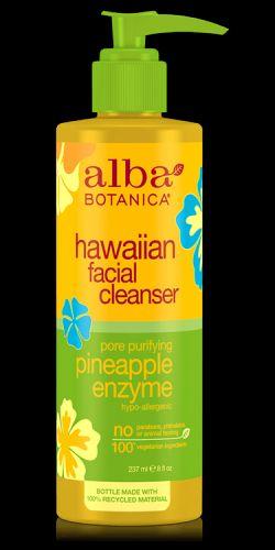 Alba Botanica Havajský obličejový čistící gel 237 ml