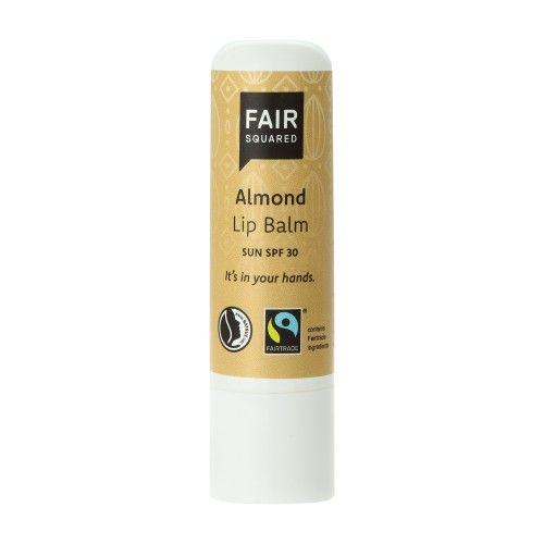 Fair Squared Přírodní balzám na rty s mandlovým olejem 7 g