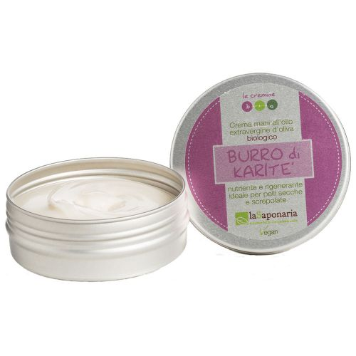 laSaponaria BIO krém na ruce s růží a bambuckým máslem 60 ml