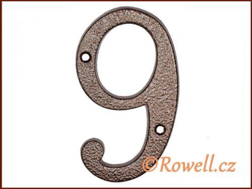 """Rowell C4 Číslice 145 """"""""9"""""""""""