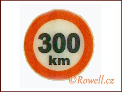 Rowell L300 značka 300 km/hod