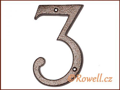 """Rowell C4 Číslice 145 """"""""3"""""""""""