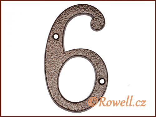 """Rowell C4 Číslice 145 """"""""6"""""""""""