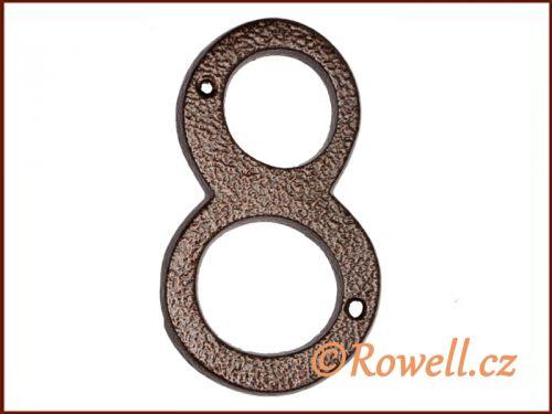 """Rowell C4 Číslice 145 """"""""8"""""""""""