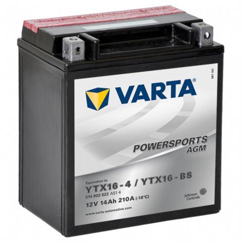 Varta AGM 12 V 14 Ah YTX16-4 / YTX16-BS