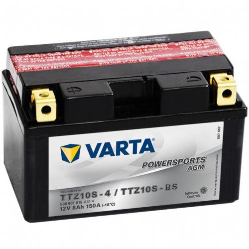 Varta Powersports AGM TTZ10S-4/TTZ10S-BS