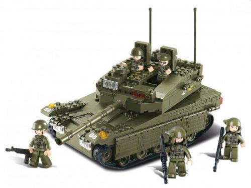 Sluban Army Tank Merkava M38-B0305
