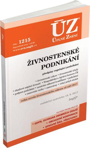Živnostenské podnikání - ÚZ č. 1215 cena od 119 Kč